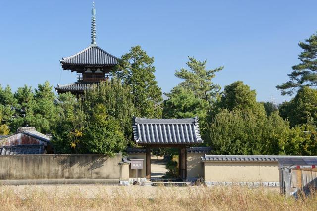 Quang cảnh chùaHoki-ji Nhật Bản