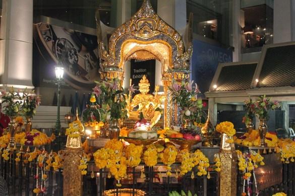 Tour du lịch Thái Lan - Tượng Phật bốn mặt