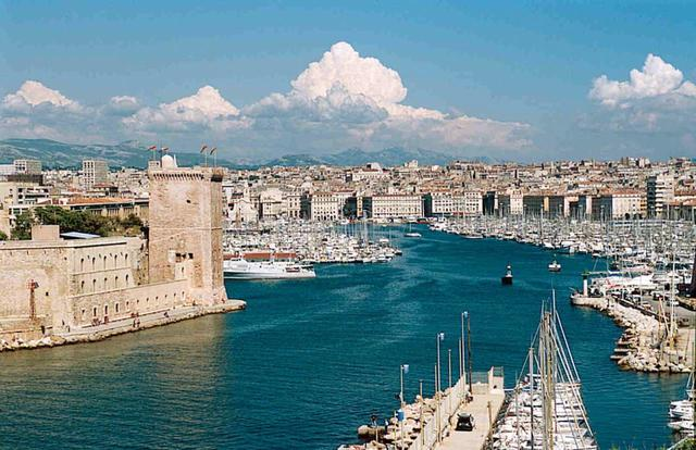 Thành phố Marseille là thành phố cảng lâu đời nhất của Pháp